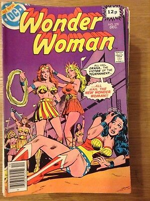 Wonder Woman issue 250 from December 1978 (Bronze Age) - discounted post