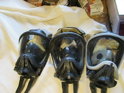 MSA Ultra Elite Mask  Small Medium Large Bracket REAR MESH FIREFIGHTER SCBA MASK
