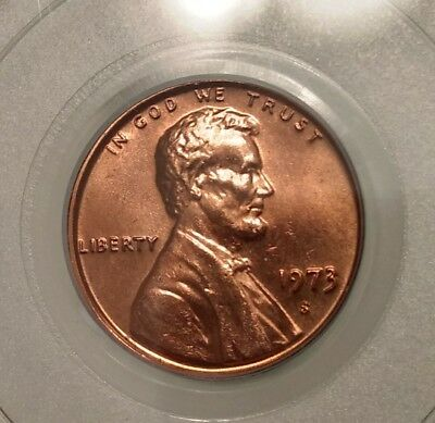 1973-S Lincoln Cent PCGS MS66RD