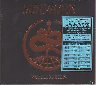 SOILWORK 2019 CD - Verkligheten + 4 (Ltd. Digi.) In Flames/Dark Tranquillity NEW