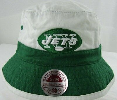 sale retailer c07a3 ee2ec New York Jets NFL Mitchell   Ness Multi Team Color Bucket Hat Size ...