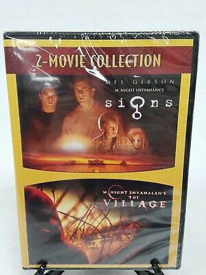 Signs The Village 2-Movie Collection M Night Shyamalan DVD New Sealed