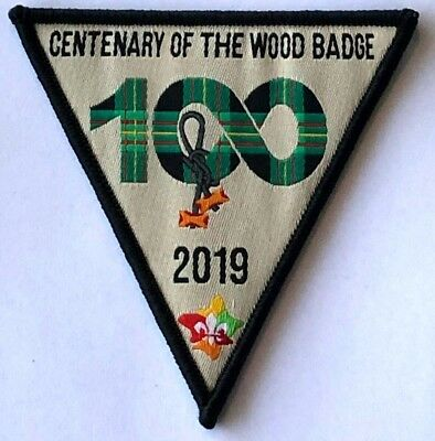 2019 CENTENARY OF THE (SCOUT) WOOD BADGE badge, w. new Scouts Australia Logo