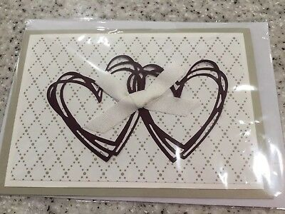 Handmade Wedding / Engagement Card card using stampin up products