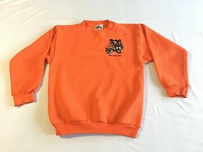 "Vintage BSA Tiger Cubs Sweatshirt M 10-12 30"" Chest Tultex Made In USA XS Small"