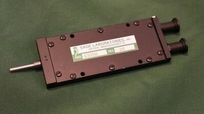 Sage Laboratories Variable Phase Shifter DC to 26.5 GHz SMA Model 6805K NOS