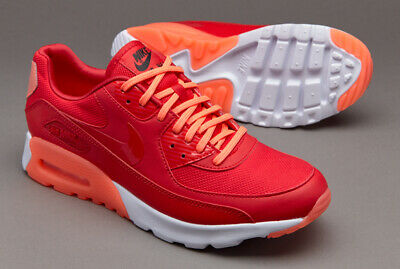 newest collection 00ff0 4d485 NWOB$179 WOMENS NIKE Air Max 90 Ultra Essential RED/BRIGHT MANGO/WHT size  7.5M