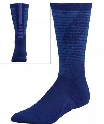 super popular 55e59 4d6ac Nike ELITE DISRUPTER CREW TEAM Basketball Socks SX7272-455 Size M 6-8