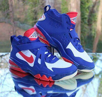 Nike Air Force Max CB 2 Hyperfuse Charles Barkley 616761-400 Blue Men s Size  14 1698f967b