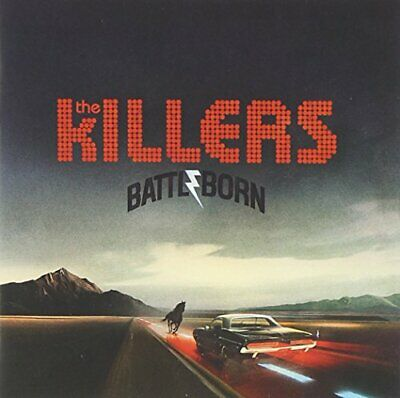 KILLERS - BATTLE BORN - KILLERS CD KUVG The Cheap Fast Free Post The Cheap Fast