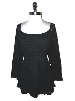 7c26887fde2 AVENUE TOP PLUS Size 18 20 2X Purple Gray Tie Dye 3 4 Sleeve Tunic ...