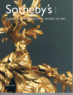 Sotheby's NY - European Furniture & Works of Art  Oct 27, 2001