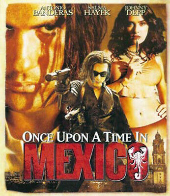 Once Upon a Time in Mexico BLU-RAY NEW