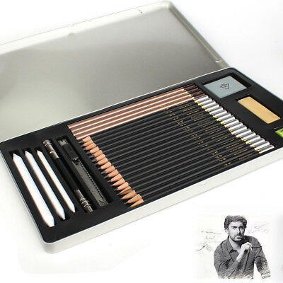 Art Kit with Sketch Draw Pencils Extender Wrap for Artist Beginners Kids Adults