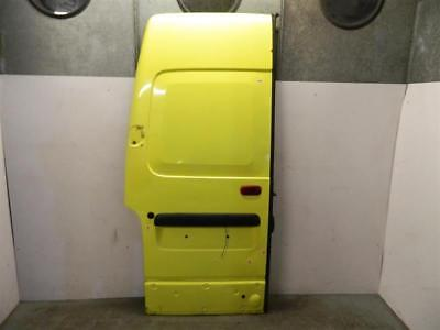 2008 Vauxhall Movano X70 High Roof LCV LH NS Passenger Side Back Door in Yellow