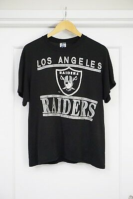 0942f799 VINTAGE 80S OR 90s Los Angeles Raiders T-shirt Oakland NFL
