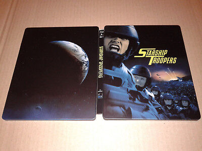 Starship Troopers Blu-ray Steelbook - Zavvi Exclusive - read first!