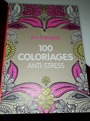 Art Therapie 100 Coloriages Anti Stress Hachette Coloriage Eur 6