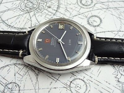 Orig. 1970 Omega Chronometer 1250 F300Hz Date Watch (ESA 9162) – Fully Serviced