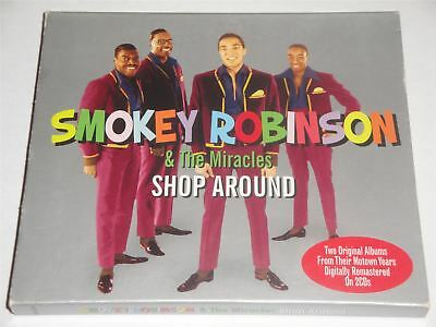 Smokey Robinson The Miracles - Shop Around  - Cookin With & We're - 2 x CD Set