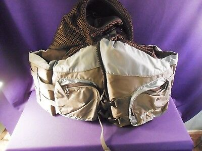 Field And Stream Flotation/Fishing Vest  WORN ONCE X-LARGE