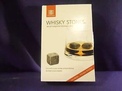 8pcs Stainless Steel Reusable Whiskey Chilling Rocks Wine Stones Ice Cubes New