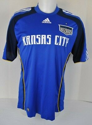 Kansas City Wizards Mls Adidas Major League Soccer 2007 Shirt Adult Size  Large L c66b0b94e
