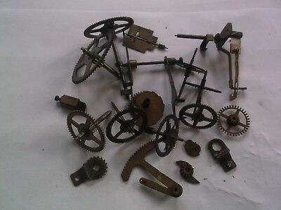 Fhs Cogs Etc  From An Old  Mantle Clock Ref Pam2