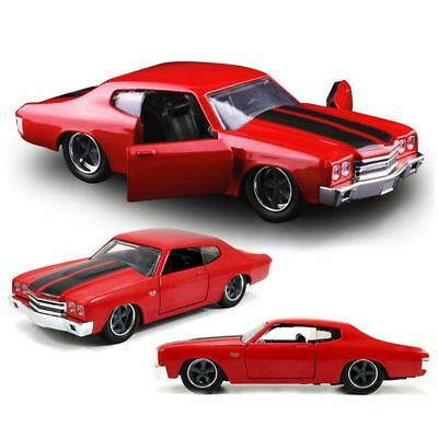 Chevrolet Chevelle SS, - Gloss Red, 'Fast & Furious 7, 1/24 Model Car