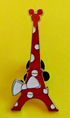 .Disney trade pin MINNIE MOUSE EIFFEL TOWER (I COMBINE THE P&P)10