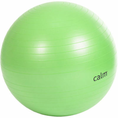 Calm 65 Cm Anti Burst Body Ball Pilates Exercise Fitness Training WITH PUMP NEW