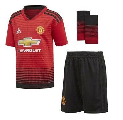 Manchester United Adidas Home Kit 2018/19 (Kids)