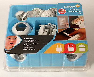 Childproofing Kit Safety First 46 Piece New Sealed