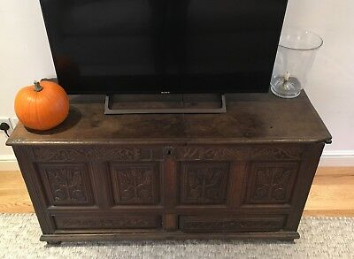 17th Century Chest - Trunk, Blanket Chest, TV Stand, Coffer