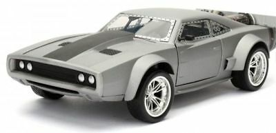 Dom's Ice Charger - Grey 'Fast & Furious 8' 1/24 Model Car
