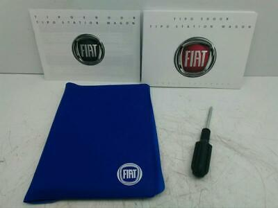 2016 on Fiat Tipo Hand Book Pack With Owners Manual & Wallet