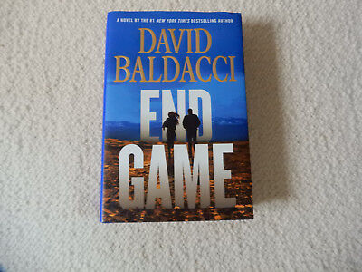 End Game by David Baldacci 1st Edition, 1st Print, Hardcover, 2017 Read Once