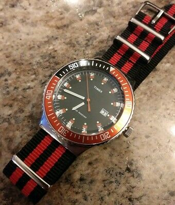 "Vintage Ultra Rare Timex Submariner 100M Men's Divers Watch ""NEW OLD STOCK!!"""