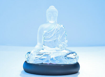 Swarovski Crystal Clear Large Supreme Buddha Zen Gift 5099353 Brand New In Box