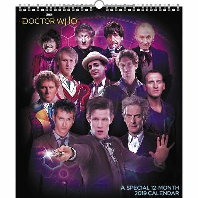 Doctor Who TV Series 16 Month 2020 Wall Calendar NEW SEALED