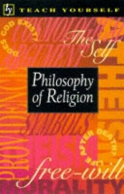 Teach Yourself Philosophy Of Religion (Tye) by Thompson, Mel Paperback Book The