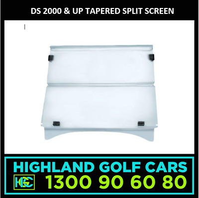 Club Car DS 2000 & up Tapered Golf Cart Split Screen