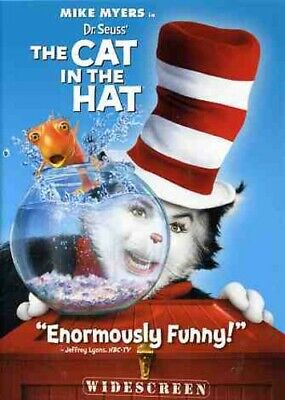 Dr. Seuss The Cat in the Hat (DVD, 2004, Widescreen Edition) *BRAND NEW SEALED*