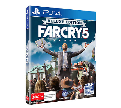 Far Cry 5 Deluxe Edition PS4 PlayStation 4 New AU