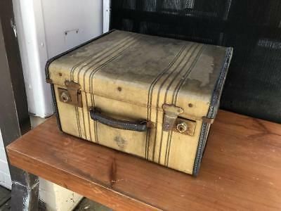Vintage Retro Suitcase Travel Decor Storage Case