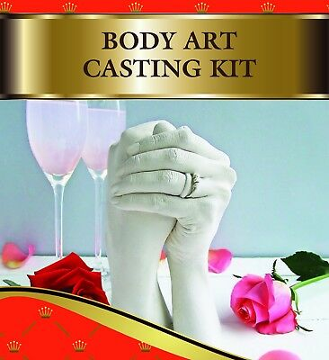 Xl Body Part Casting Kit. Beautiful Gift. By Vesey Gallery