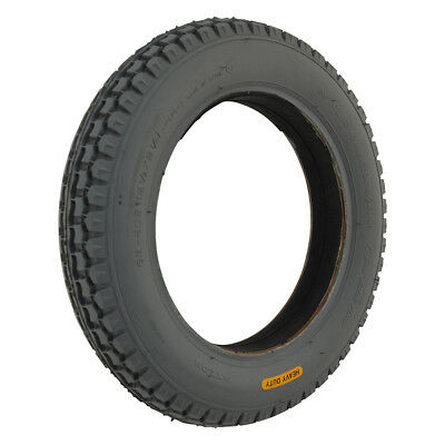 12 1/2 x 2 1/4 Grey Infilled / Solid mobility scooter Tyre