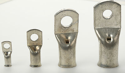 ALL SIZES Copper Tube Eyelet Terminals Crimp/Solder Wire/Cable Ends Lugs Battery