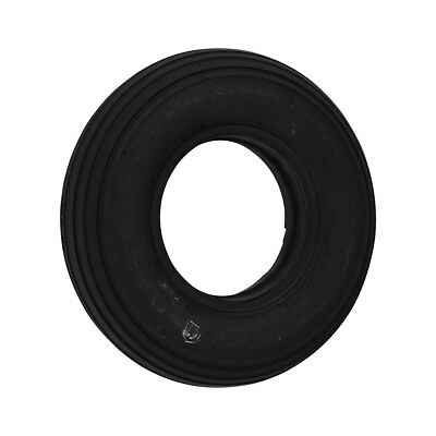 200 x 50 Black Infilled / Solid Rib mobility scooter Tyre