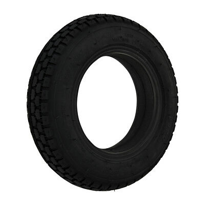 250 x 6 Black Infilled / Solid Block mobility scooter Tyre